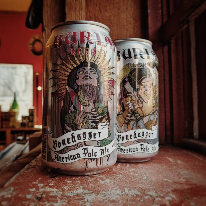 Burial Beer Co. 'Bonedagger' American Pale Ale 12oz (Can)