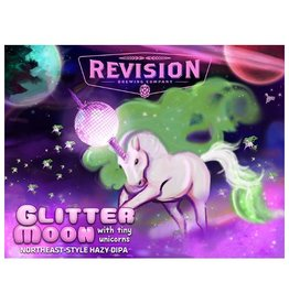 Revision 'Glitter Moon with Tiny Unicorns' Northeast-style Double IPA 16oz Sgl (Can)