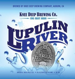Knee Deep 'Lupulin River' Imperial IPA 12oz Sgl (Can)