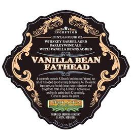 Nebraska 'Vanilla Bean Fathead' Whiskey Barrel-aged Barleywine w/ Vanilla 500ml