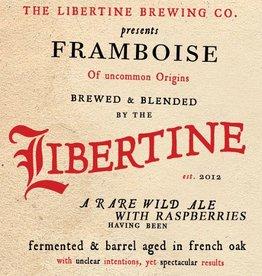 Libertine 'Framboise' Barrel Fermented and Aged Ale w/ Raspberries 750ml