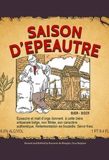 Blaugies 'Saison D'Epautre' Unfiltered Farmhouse Ale 750ml