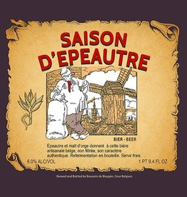 Blaugies 'Saison D'Epautre' Unfiltered Farmhouse Ale 750ml