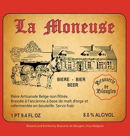 Blaugies 'La Moneuse' Unfiltered Farmhouse Ale 750ml