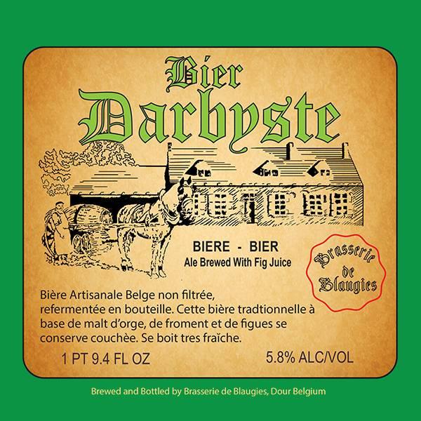 Blaugies 'Darbyste' Wheat Saison w/ Figs 750ml