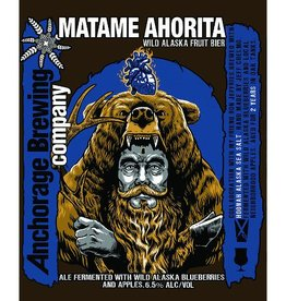Anchorage x Jolly Pumpkin 'Matame Ahorita' Wild Alaska Fruit Bier 750ml