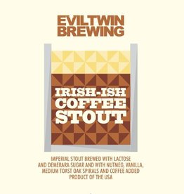 Evil Twin 'Irish-ish' Coffee Stout 16oz Sgl (Can)