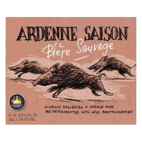 Bastogne 'Ardenne Saison' 11.2oz Sgl