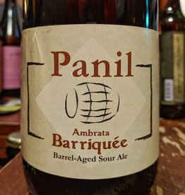 Panil 'Ambrata Barrique' Barrel-aged Sour Ale 750ml