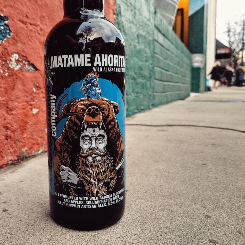 Anchorage Brewing Co. x Jolly Pumpkin 'Matame Ahorita' Wild Alaska Fruit Bier 750ml