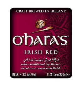 Carlow 'O'hara's Irish Red' Ale 11.2oz Sgl