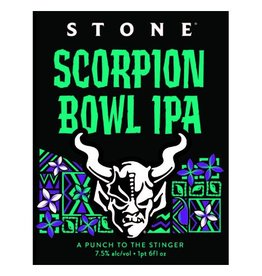 Stone 'Scorpion Bowl' IPA 22oz