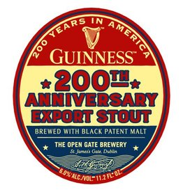 Guinness '200th Anniversary' Export Stout 12oz Sgl