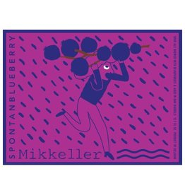 Mikkeller 'Spontanblueberry' Sour Ale Aged in Oak Barrels w/ Blueberries 375ml