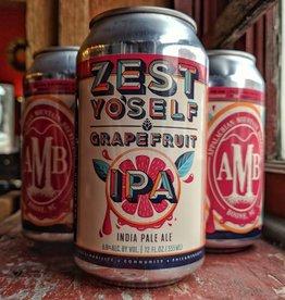 Appalachian Mountain 'Zest Yo'self' Grapefruit IPA 12oz Sgl (Can)