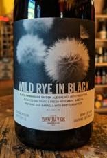 Haw River Farmhouse Ales 'Wild Rye in Black' Wine Barrel-aged Black Farmhouse Saison 500ml