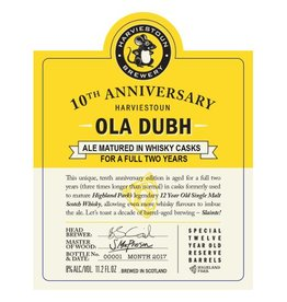Harviestoun '10th Anniversary Ola Dubh' 12oz Sgl