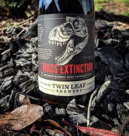 Twin Leaf 'Bourbon Barrel Aged Mass Extinction' Imperial Stout 500ml