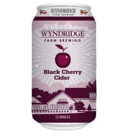 Wyndridge 'Black Cherry' Cider 12oz Sgl (Can)
