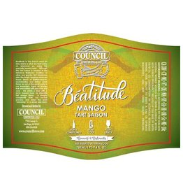 Council 'Beatitude Mango' Tart Saison 750ml