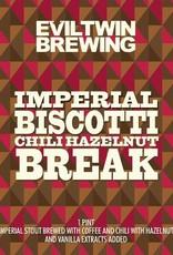 Evil Twin 'Imperial Biscotti Chili Hazelnut Break' Imperial Stout 16oz Sgl (Can)