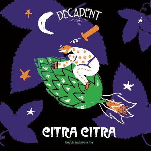Decadent Ales 'Citra Citra' Double IPA 16oz Sgl (Can)