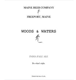 Maine 'Woods & Waters' IPA 500ml