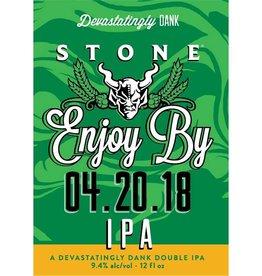 Stone 'Enjoy By 04.20.18' IPA 12oz Sgl (Can)