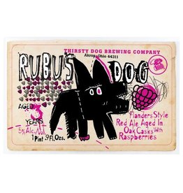 Thirsty Dog 'Rubus Dog' Oak Cask-aged Flanders Red Ale w/ Raspberries 500ml