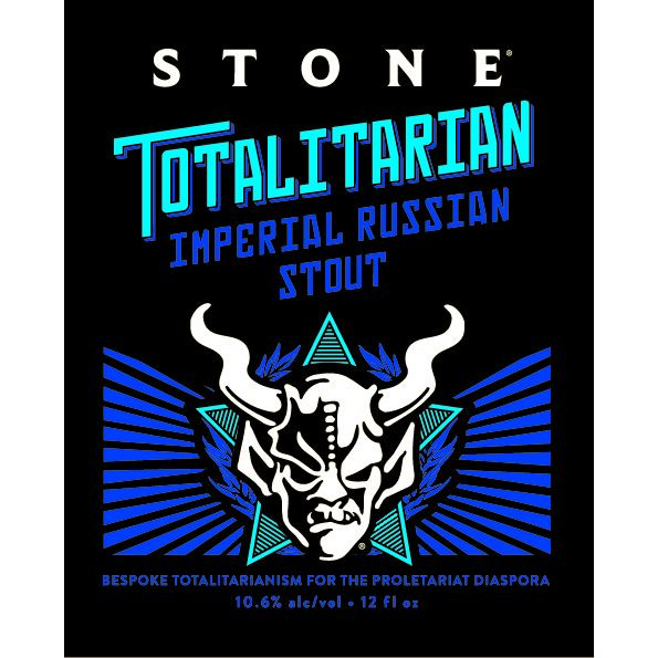 Stone 'Totalitarian Imperial Russian Stout' 12oz Sgl