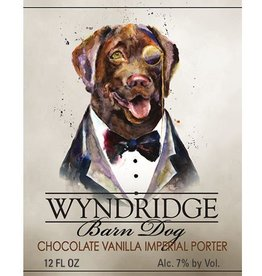 Wyndridge 'Barndog' Chocolate Vanilla Imperial Porter 12oz Sgl