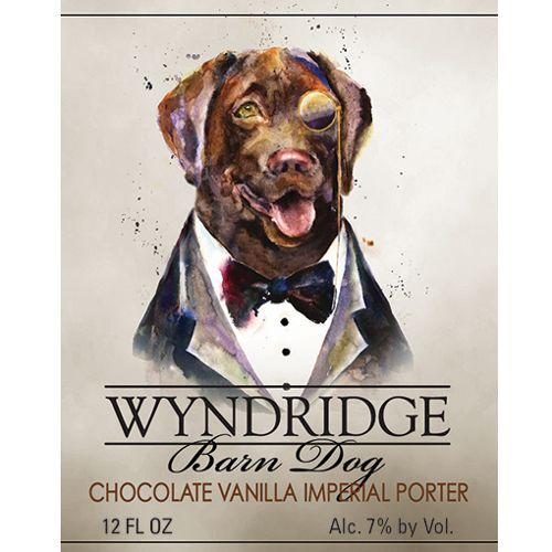 Wyndridge 'Barndog' Chocolate Vanilla Imperial Porter 12oz Sgl