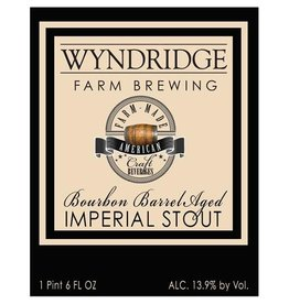 Wyndridge 'Bourbon Barrel Aged Imperial Stout' 22oz