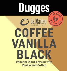 Dugges 'Coffee Vanilla Black' 11.2oz Sgl