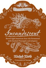 Wicked Weed 'Incandescent' Barrel-Aged American Sour Ale 500ml