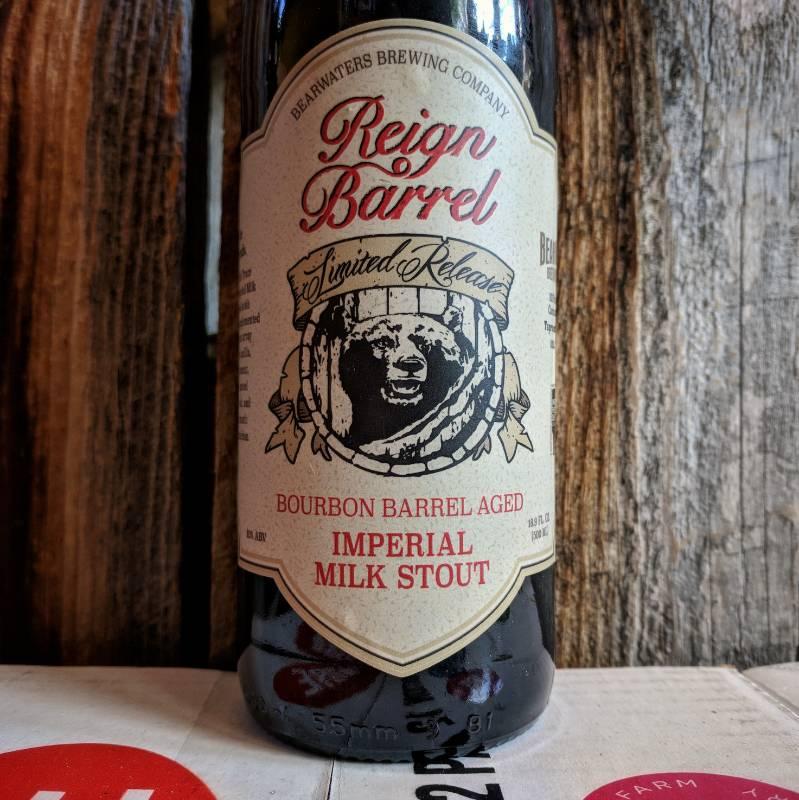 BearWaters 'Reign Barrel' Barrel-Aged Imperial Milk Stout 500ml