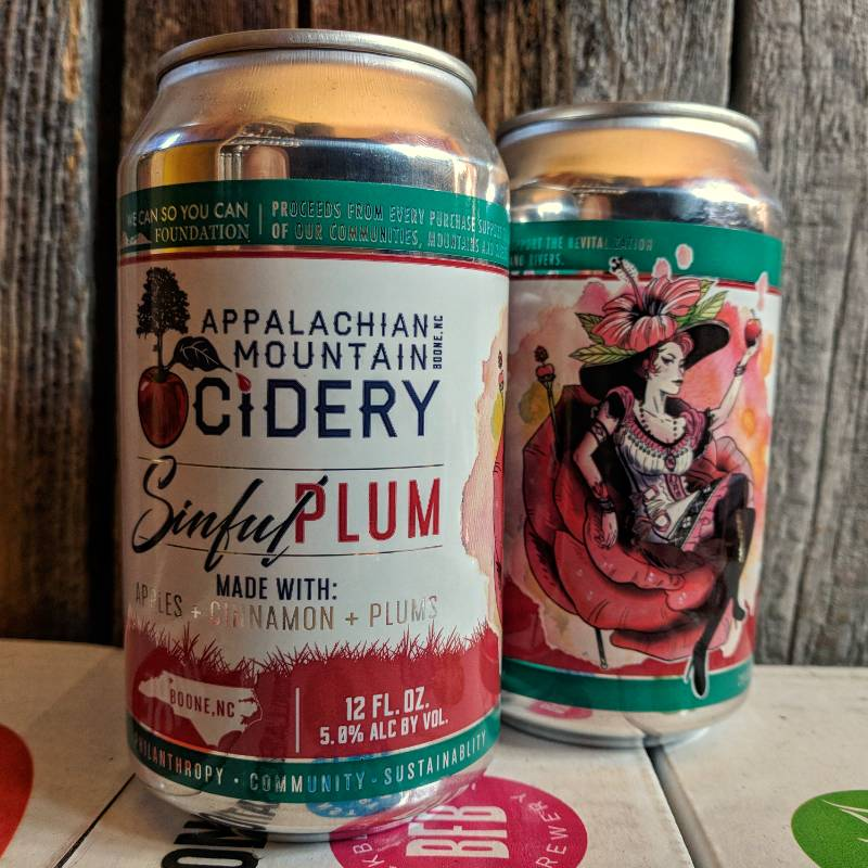 Appalachian Mountain 'Sinful Plum' 12oz Sgl (Can)