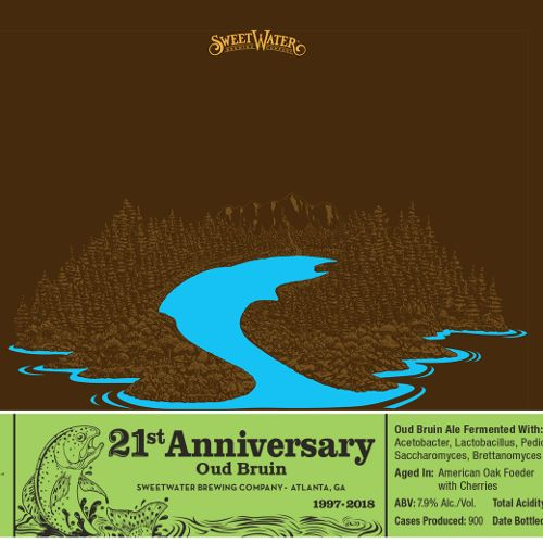 Sweetwater '21st Anniversary' Oud Bruin 375ml