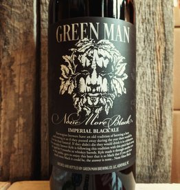 Green Man Brewery 'None More Black' Barrel-aged Imperial Black Ale 750ml
