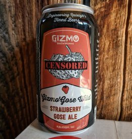 Gizmo BrewWorks Gizmo 'Strawberry Gose' 12oz (Can)