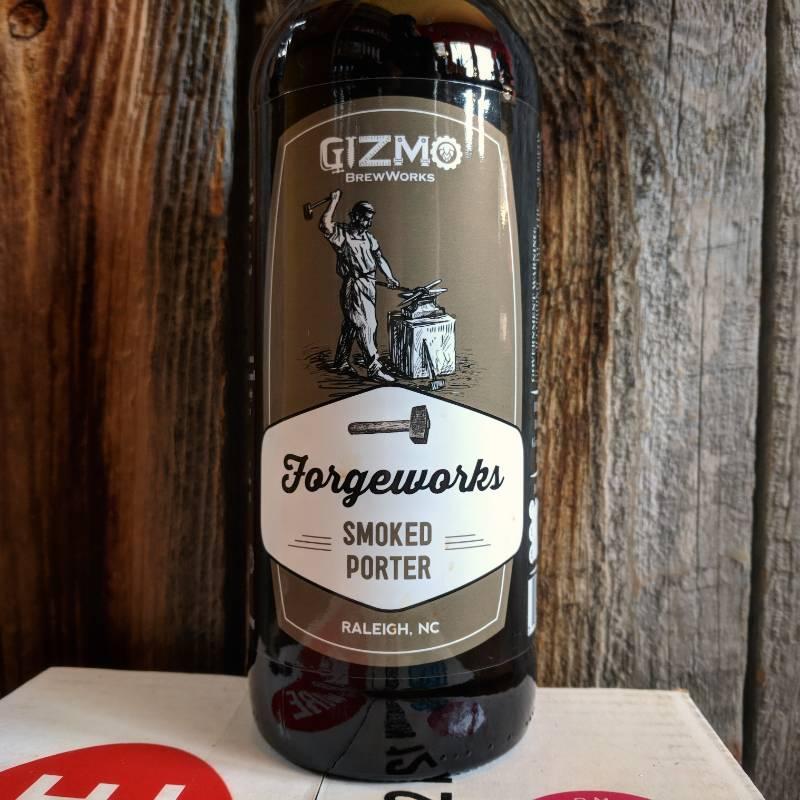 Gizmo BrewWorks 'Forgeworks' Smoked Porter 22oz
