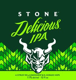 Stone 'Delicious' Gluten-reduced IPA 12oz Sgl (Can)