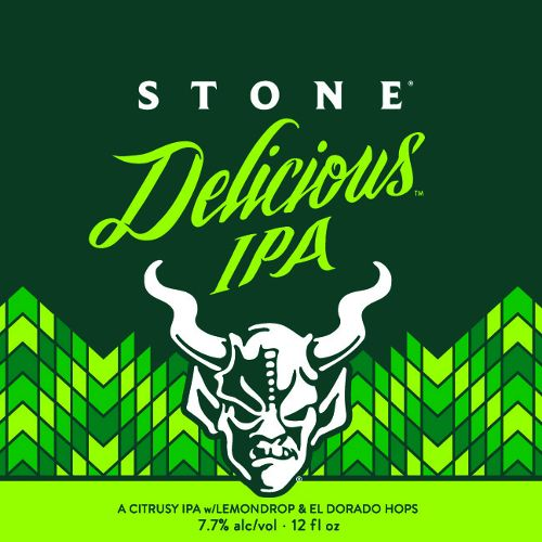 Stone Brewing 'Delicious' Gluten-reduced IPA 12oz (Can)