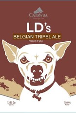 Catawba 'LDs Belgian Tripel' 12oz Sgl (Can)