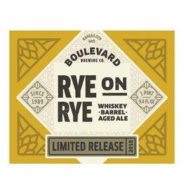 Boulevard Brewing Co. 'Rye on Rye' Whiskey Barrel-aged Rye Ale 12oz Sgl