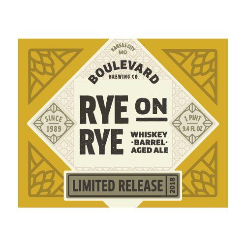 Boulevard 'Rye on Rye' Whiskey Barrel-aged Rye Ale 12oz Sgl