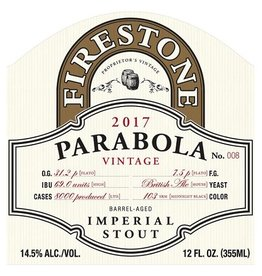 Firestone Walker 'Parabola' Barrel-Aged Imperial Stout 12oz Sgl