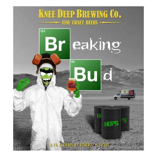 Knee Deep 'Breaking Bud' IPA 16oz (Can)