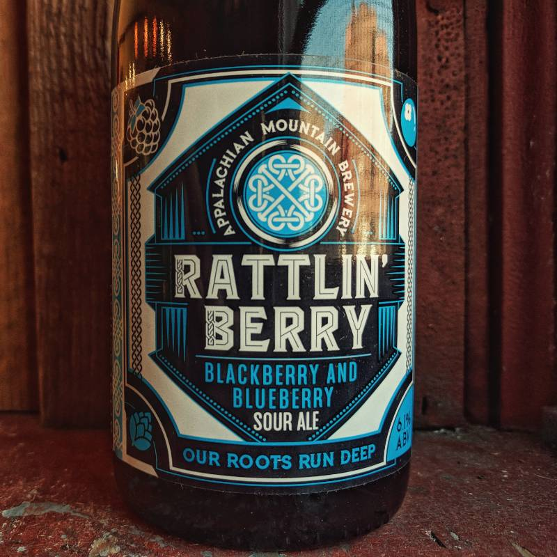 Appalachian Mountain 'Rattlin Berry' Blackberry & Blueberry Sour Ale 500ml