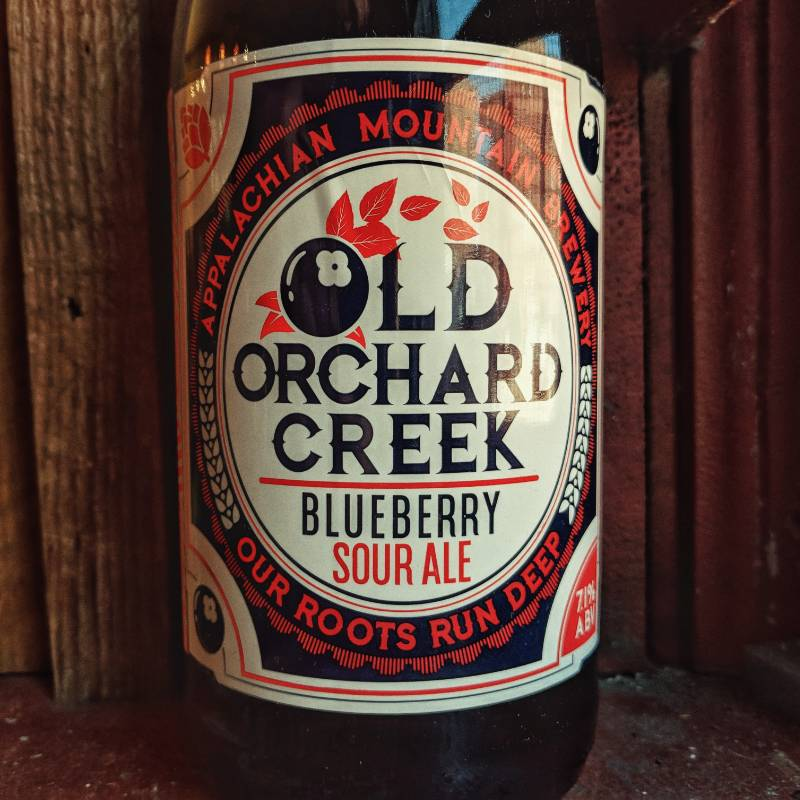 Appalachian Mountain 'Old Orchard Creek' Blueberry Sour Ale 750ml
